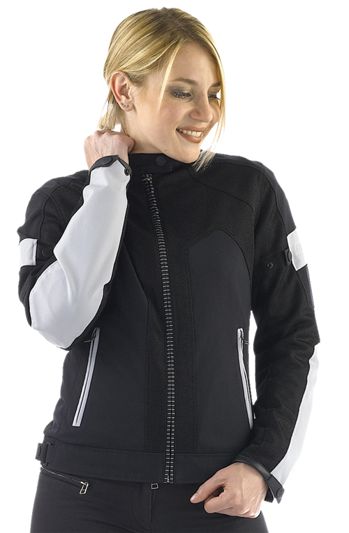 Dainese Air-Frame Lady textile jacket black-high rise