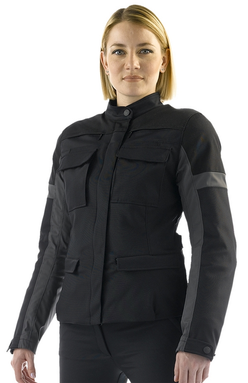 Dainese Tayga Tex Lady women motorcycle jacket black-black