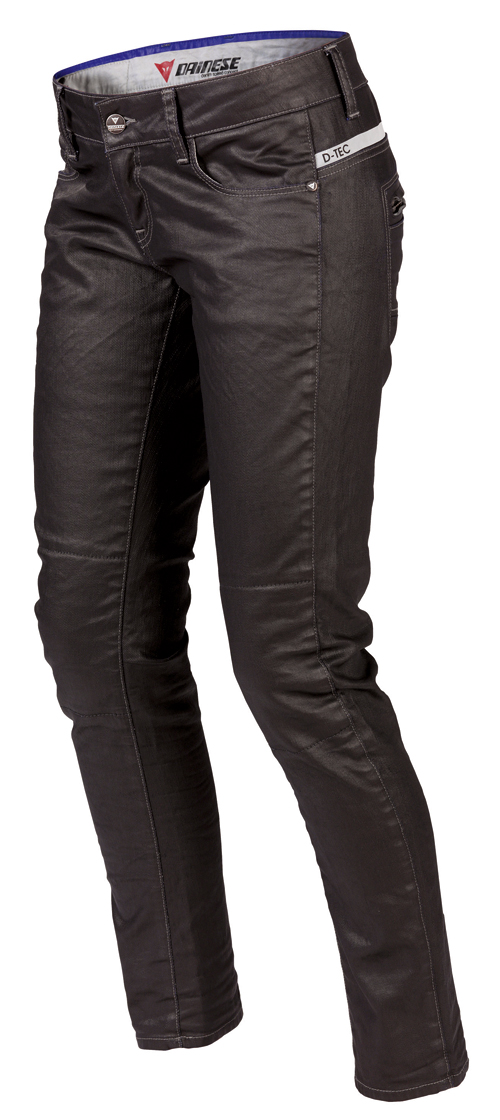 Pantaloni denim Dainese D19 Denim Lady neri