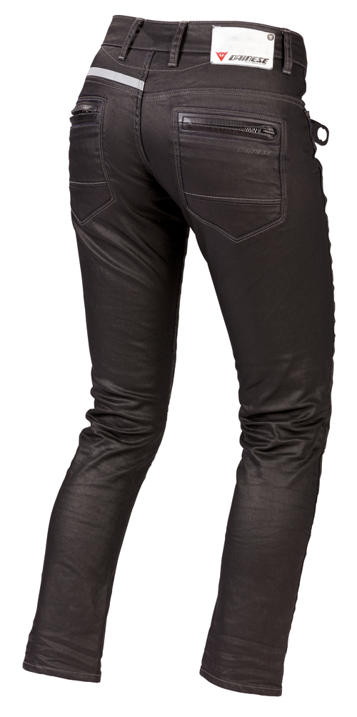Dainese D19 Denim Lady pants black