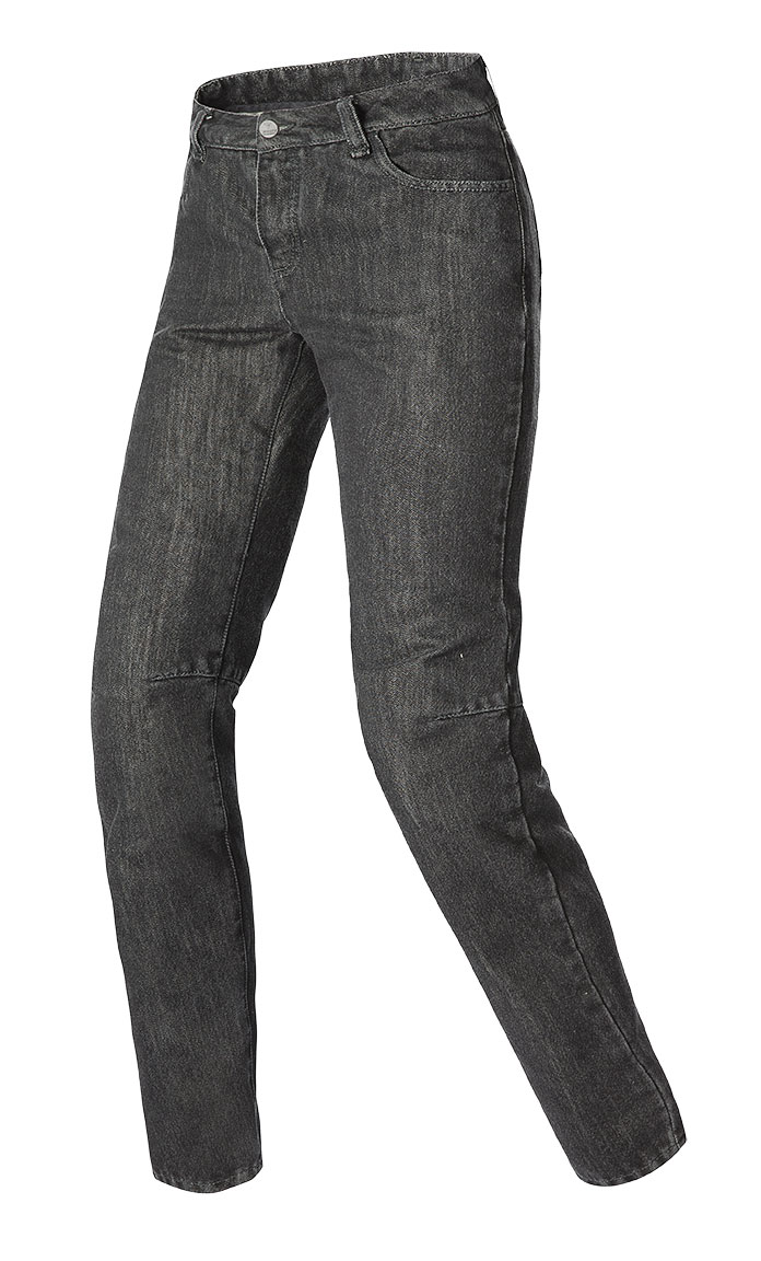 Women Dainese motorcycle jeans denim 4K California Lady