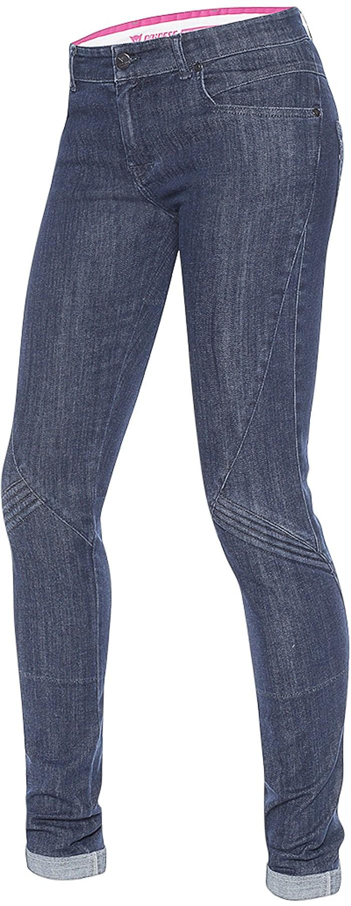 Jeans moto donna Dainese Jessville skinny Denim Blu