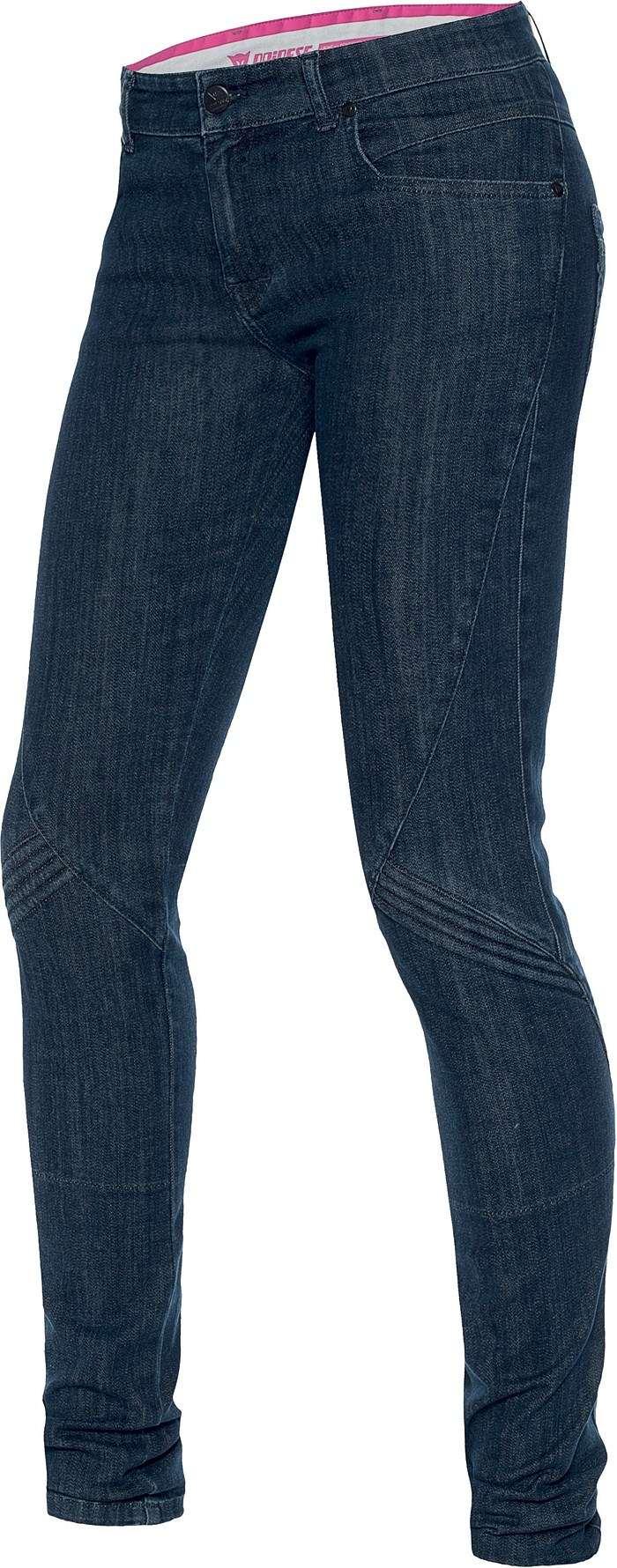 Jeans moto donna Dainese Jessville skinny Denim medio