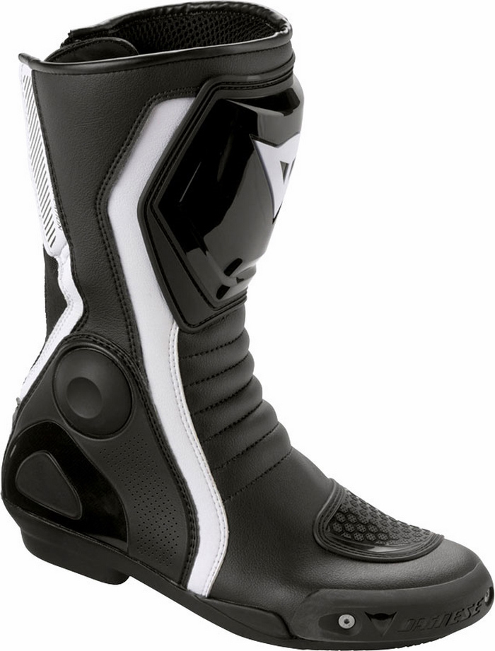 Women's motorcycle boots Dainese Avant Race Lady Black White