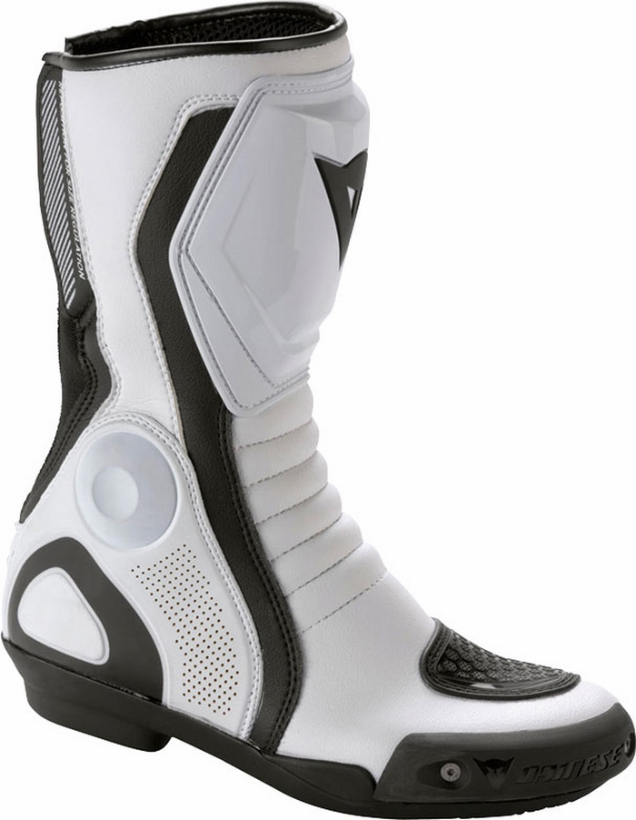 Women's motorcycle boots Dainese Avant Race Lady White Black