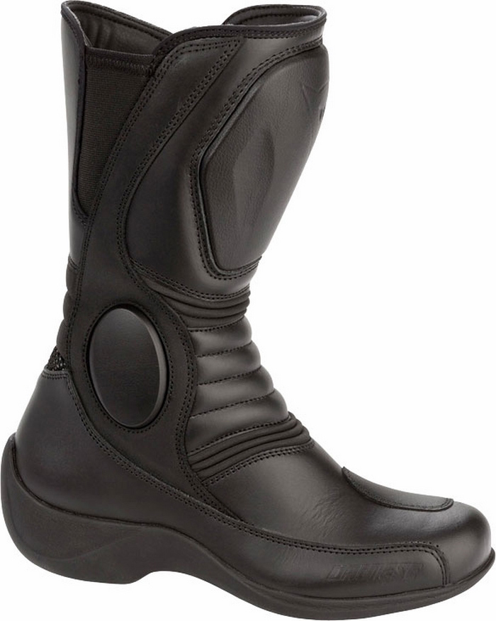 Women's motorcycle boots Dainese D-WP Siren C2 Lady Black
