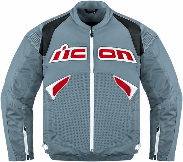 Leather motorcycle jacket Sanctuary Icon Grey
