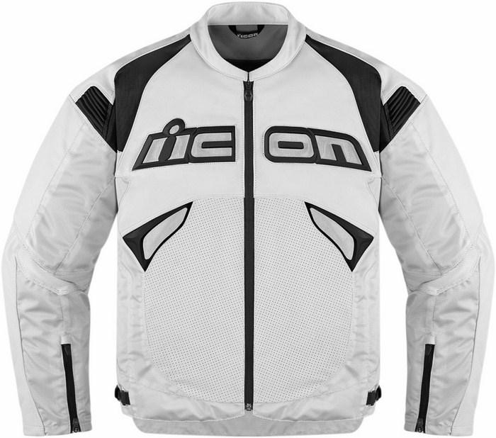 White leather motorcycle jacket Icon Sanctuary