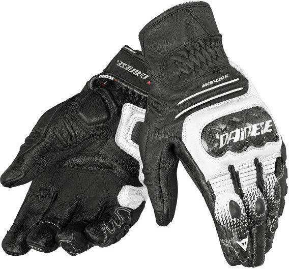 Glove leather Dainese Carbon Cover Motorcycle Women's S-ST B