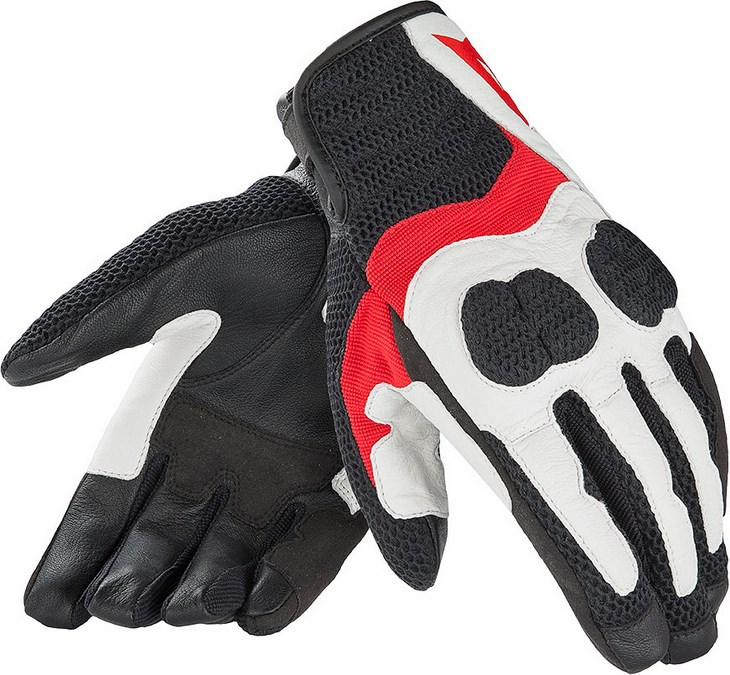 Dainese Air Mig Lady summer gloves white red black