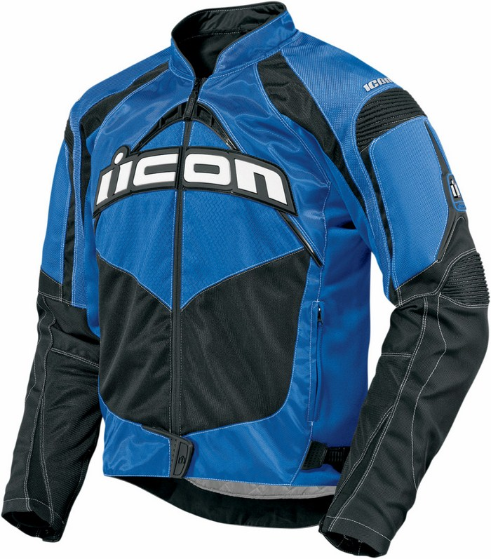Summer Icon Contra Motorcycle Jacket Blue