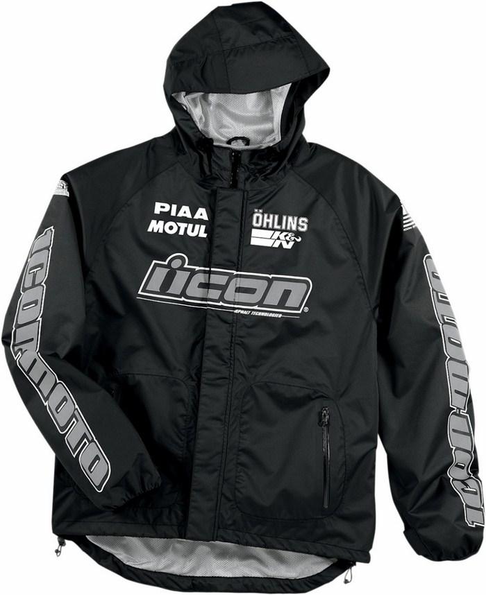 Icon PDX Rain Jacket Black