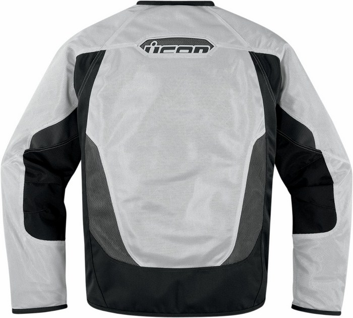 Summer motorcycle jacket Icon Anthem Mesh White