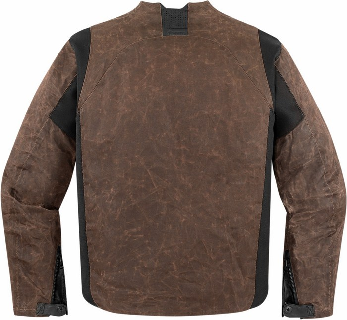 Icon motorcycle jacket 1000 Oildale Brown