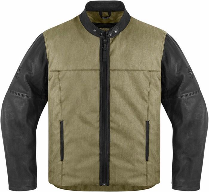 Icon motorcycle jacket 1000 Vigilante Green