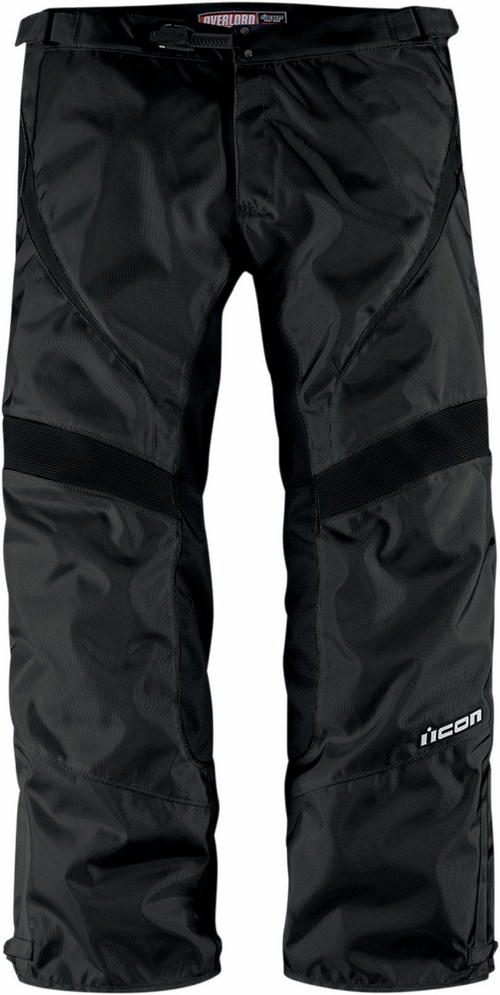 Icon Overlord Motorcycle Pants Black