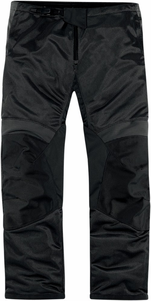 Pantaloni moto estivi Icon Anthem Mesh Nero