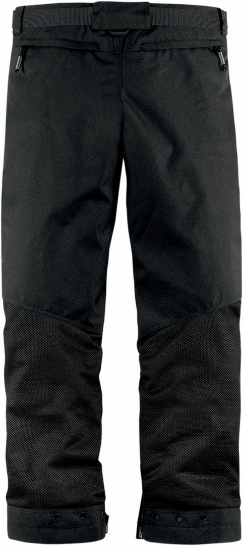 Summer motorcycle trousers Icon Mesh Black Citadel