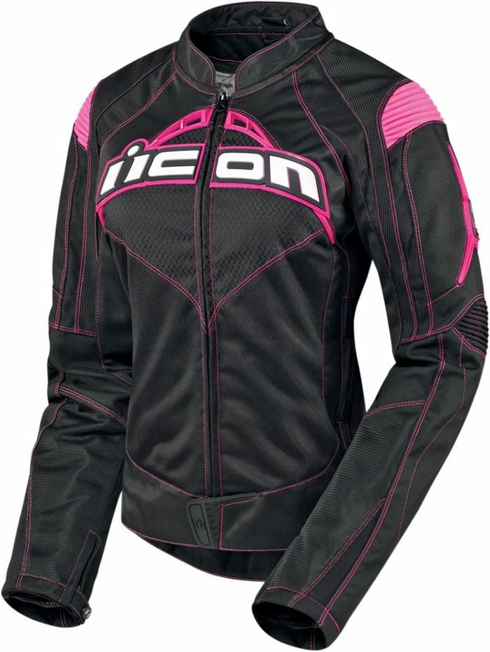 Icon Contra Motorcycle Jacket Black woman summer