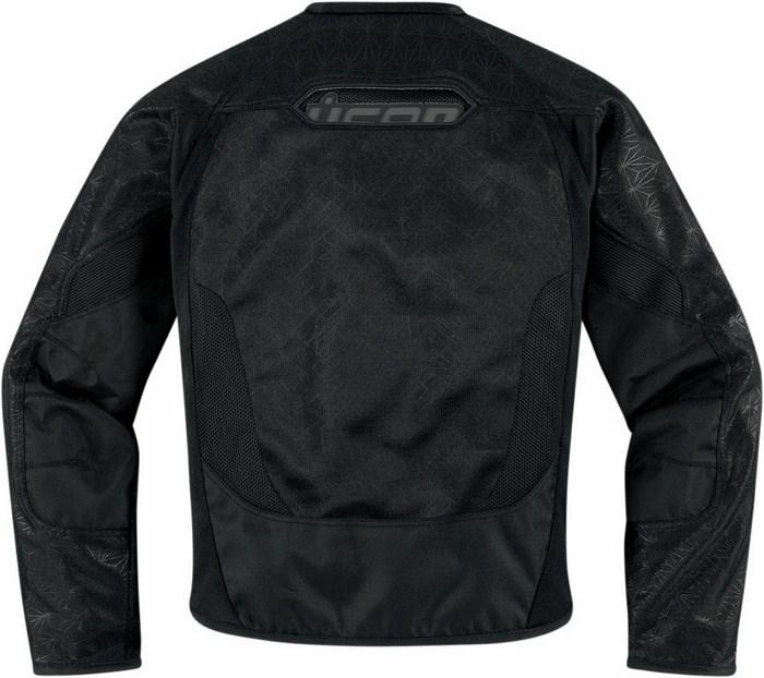 Motorcycle jacket women summer Icon Anthem Black Mesh