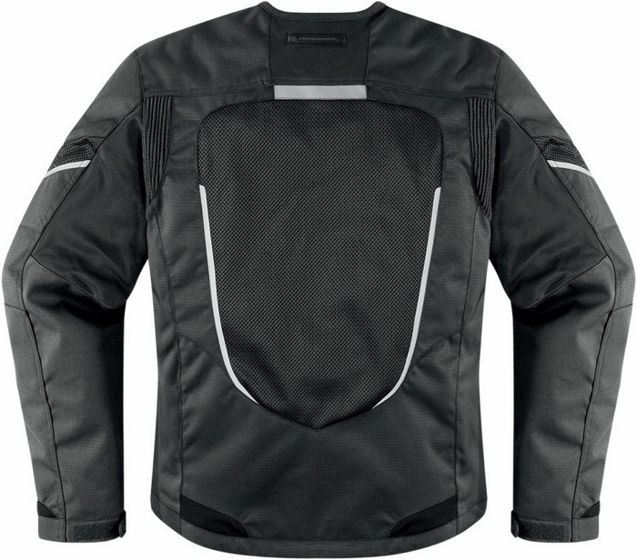 Motorcycle jacket women summer Icon Mesh Black Citadel
