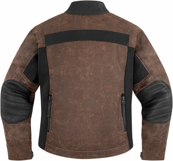 Women leather motorcycle jacket Icon Hella 1000 1000 Brown