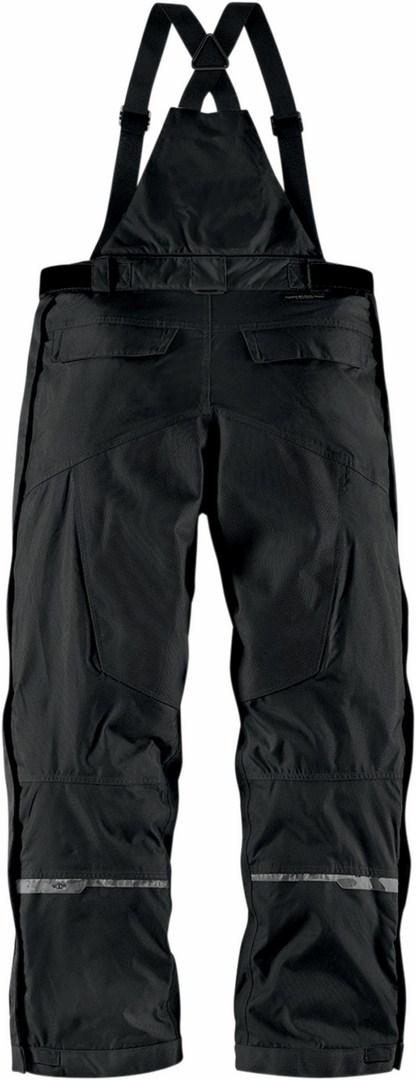 Icon Patrol Waterproof Motorcycle Pants Waterproof Black