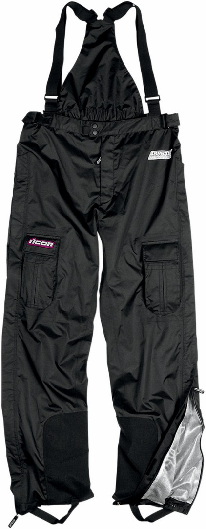 Pantaloni impermeabili donna Icon PDX Waterproof Nero
