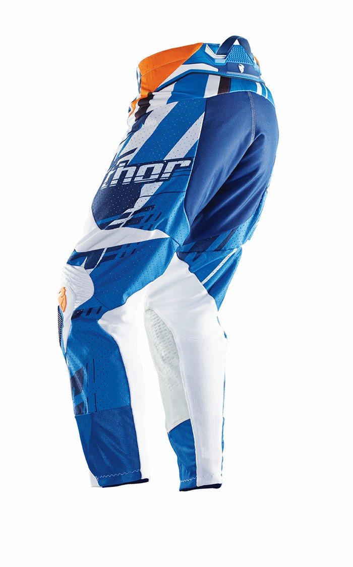 Pantaloni cross Thor Flux Shred blu