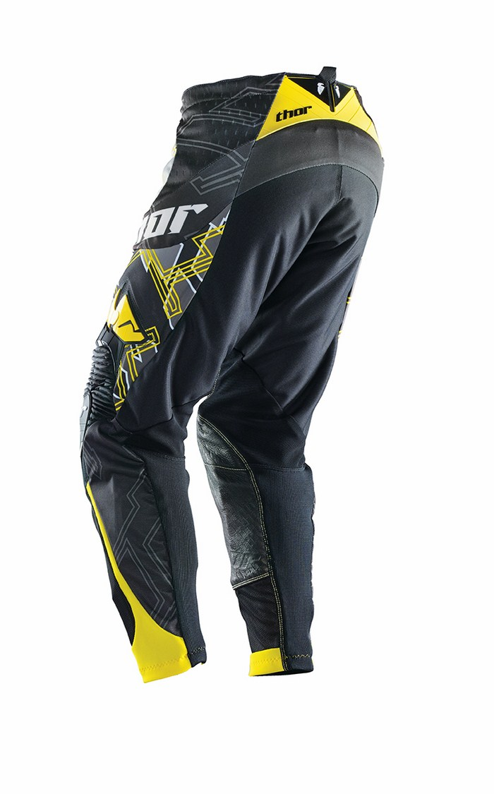 Thor Core Fragment pants black yellow