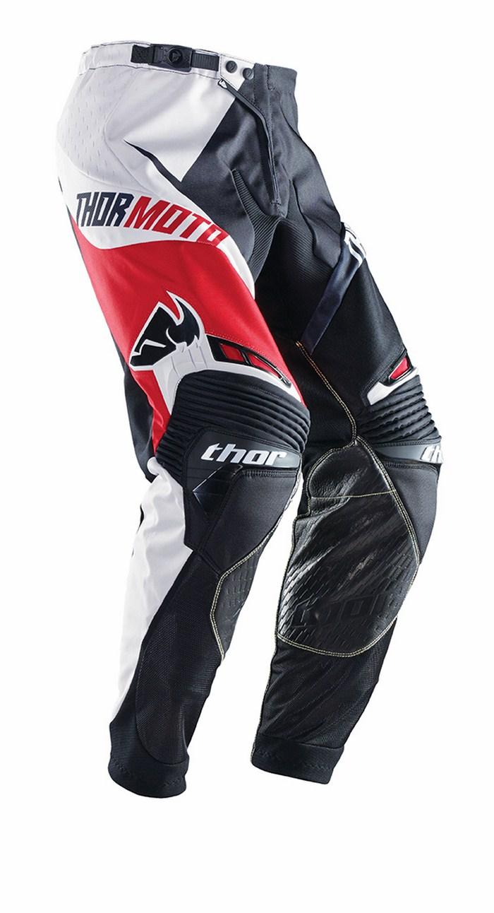Thor Core Razor pants red black white
