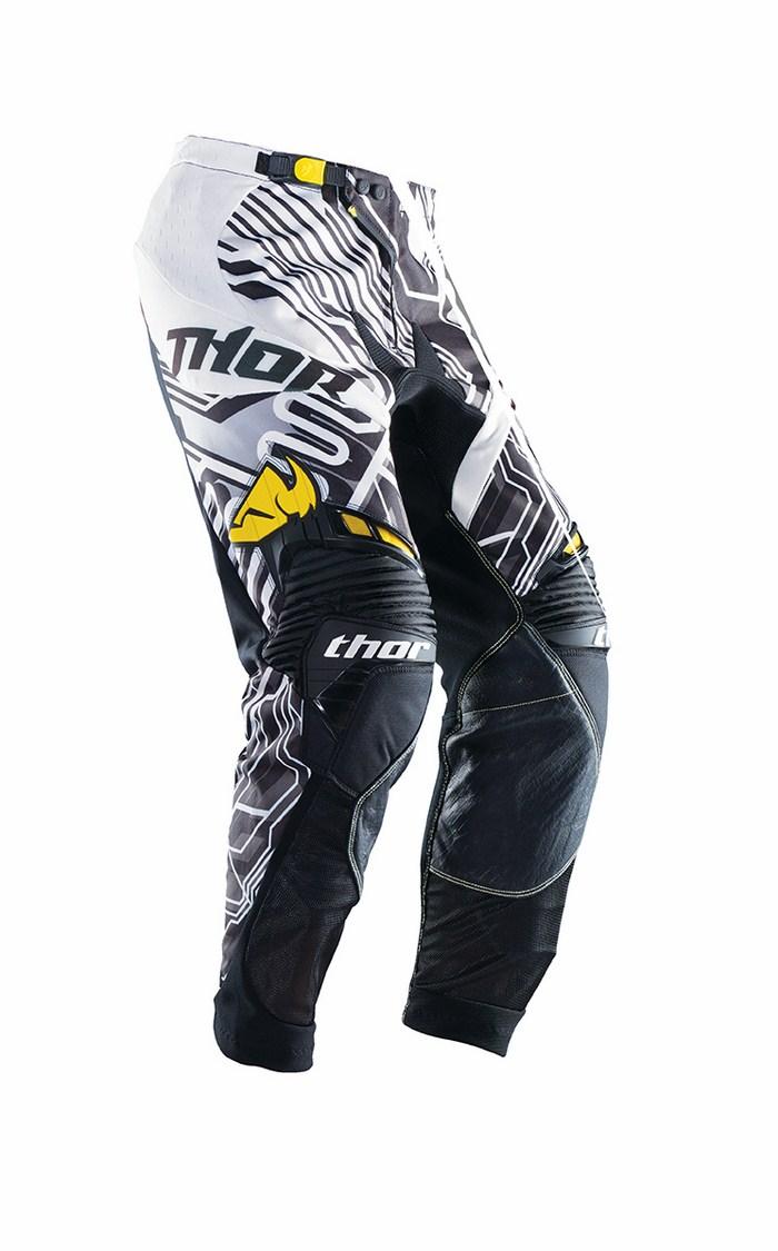 Pantaloni cross Thor Core Fusion giallo