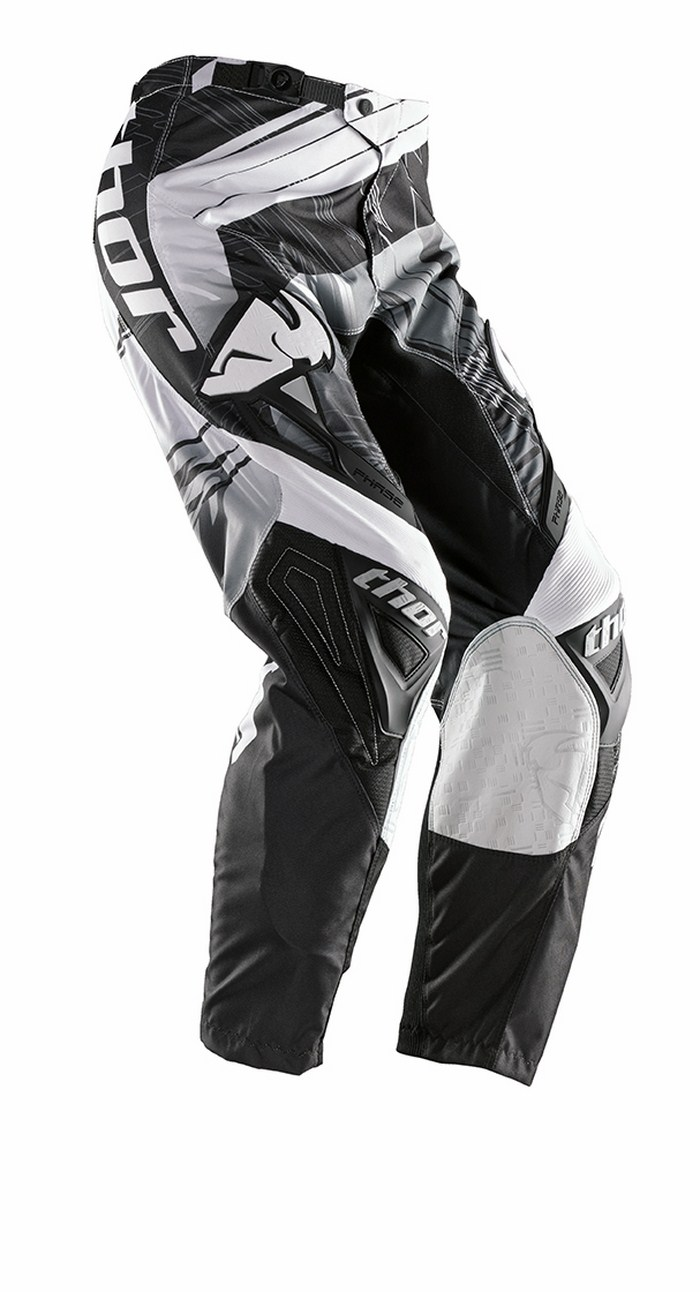 Thor Phase Pants cross Swipe white black
