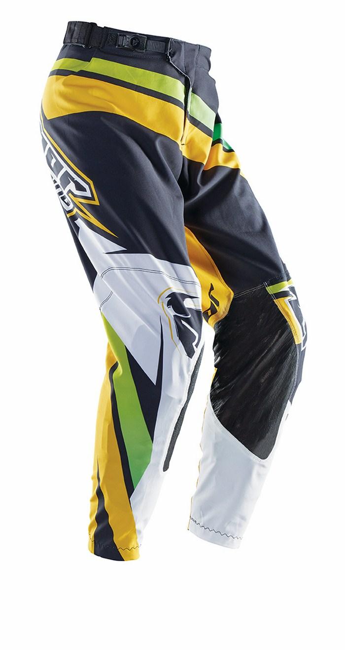 Pantaloni cross Thor Prime Slice verde nero giallo