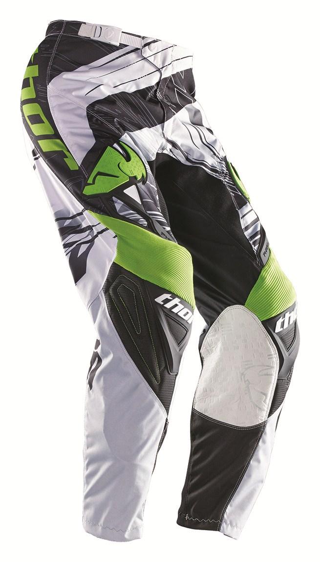 Pantaloni Cross Bambino Thor Phase Swipe verde