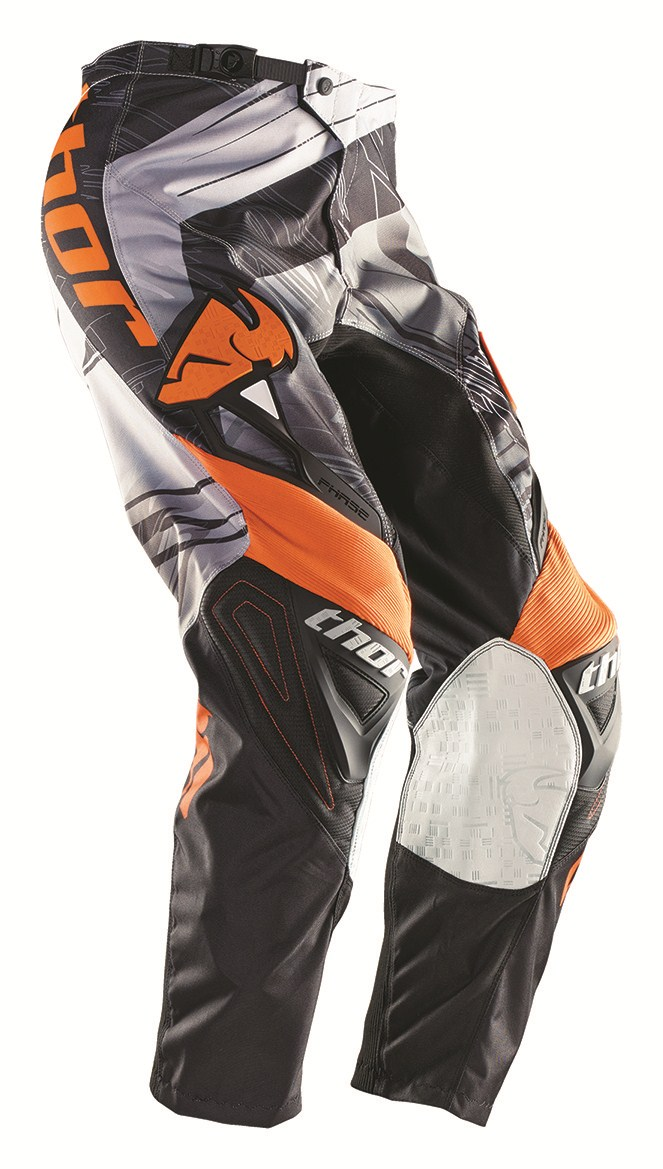 Pantaloni Cross Bambino Thor Phase Swipe arancio