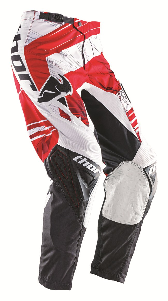 Thor Youth Phase Swipe pants red