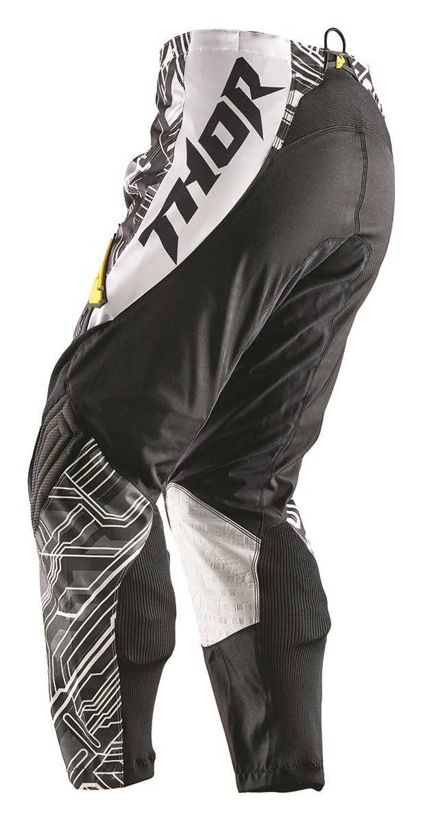 Pantaloni Cross Bambino Thor Phase Fusione Youth giallo nero