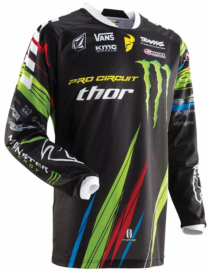 Thor Phase Pro Circuit jersey