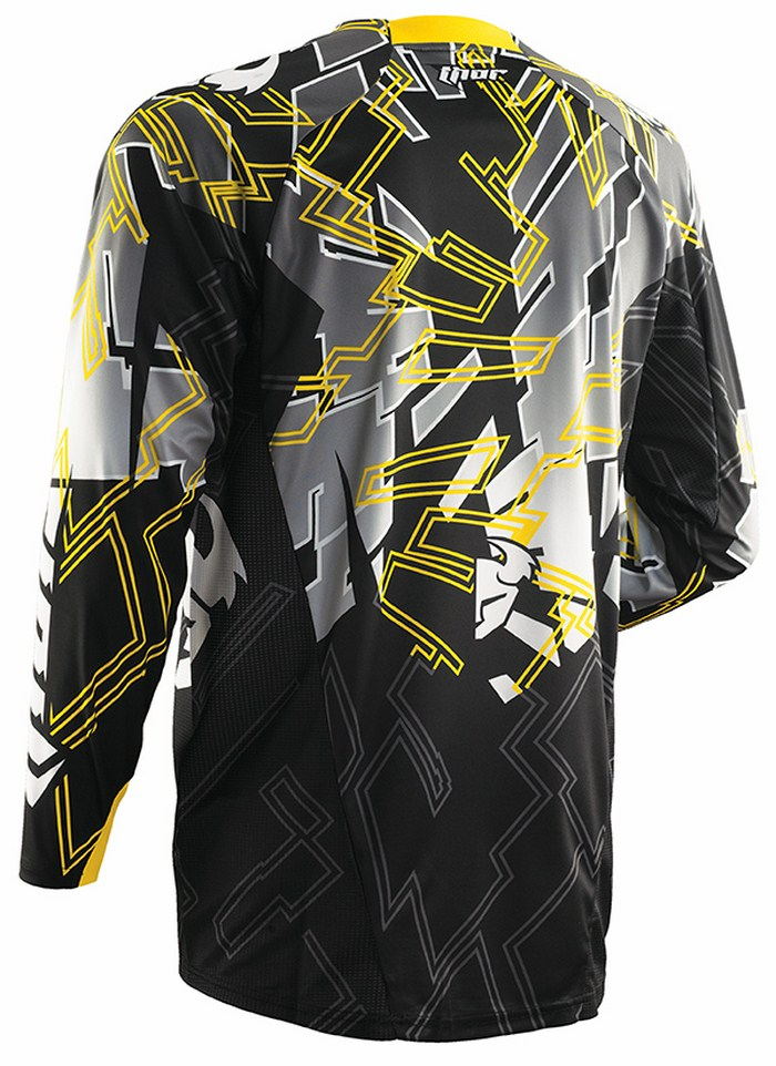 Thor Core Fragment jersey black yellow