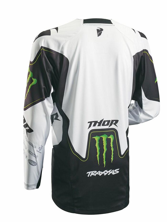 Thor Core Pro Circuit Jersey cross white black