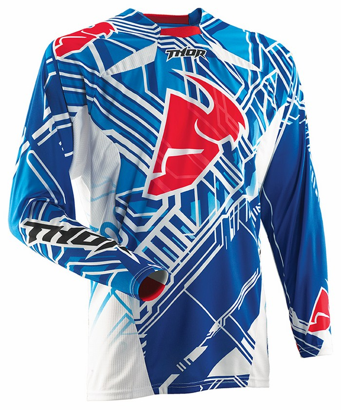 Thor Core Fusion jersey blue