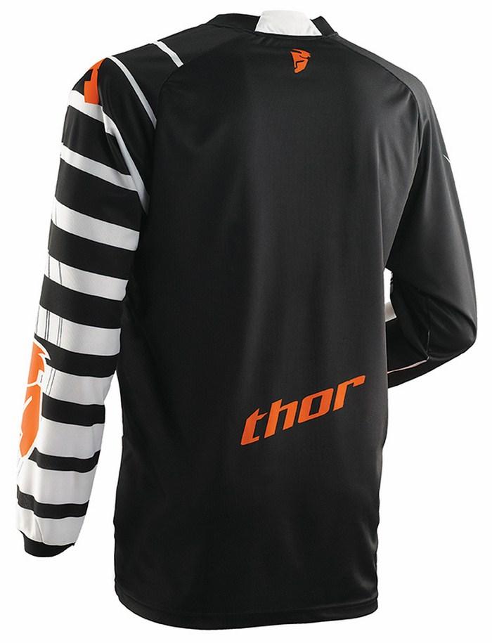 Thor Phase Mask jersey white black orange