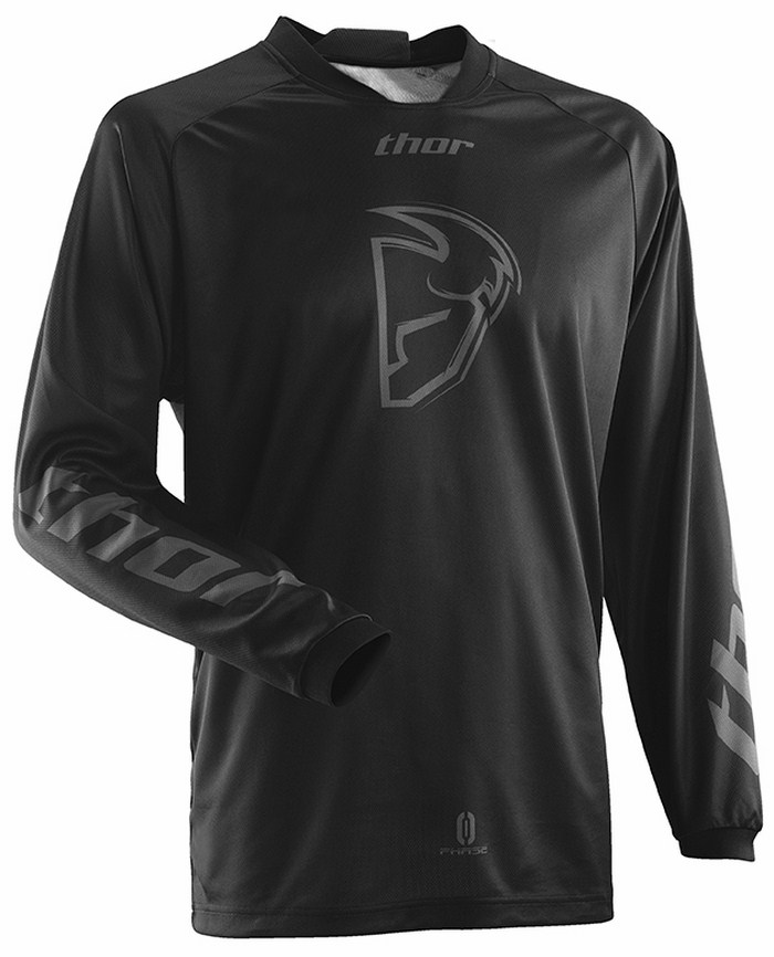 Thor Phase Cold Wather jersey black