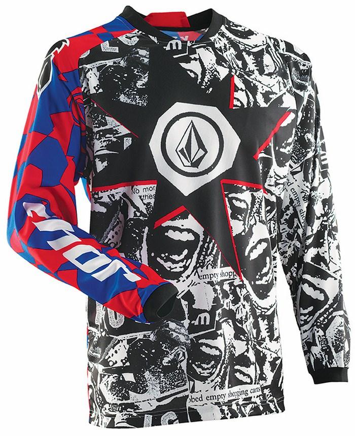 Thor Volcom Collab Phase Paradox jersey