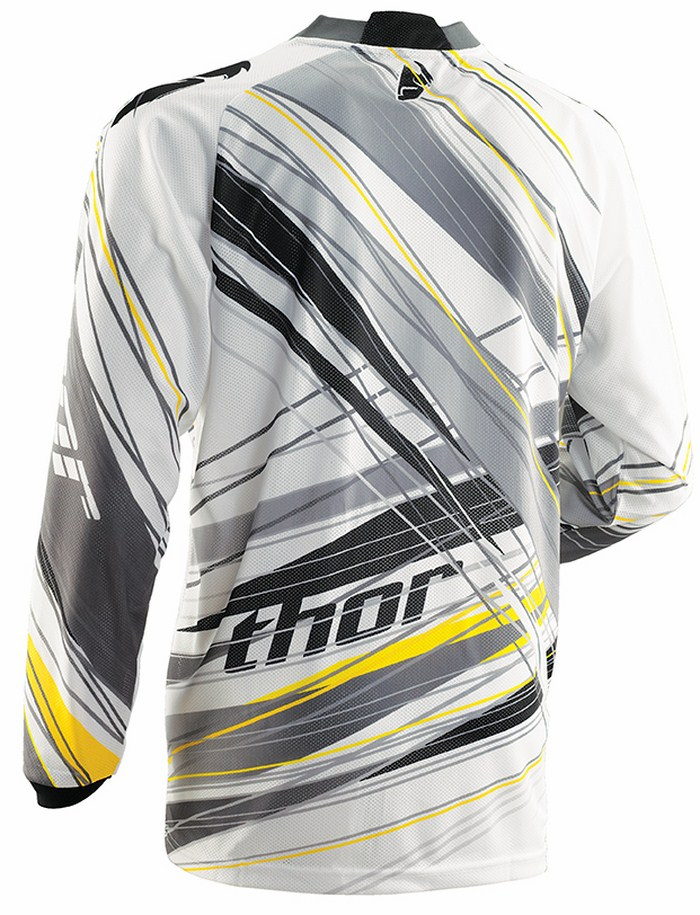 Thor Phase Vented Wired jersey grey
