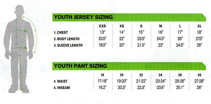 Thor Youth Phase Swipe Jersey black
