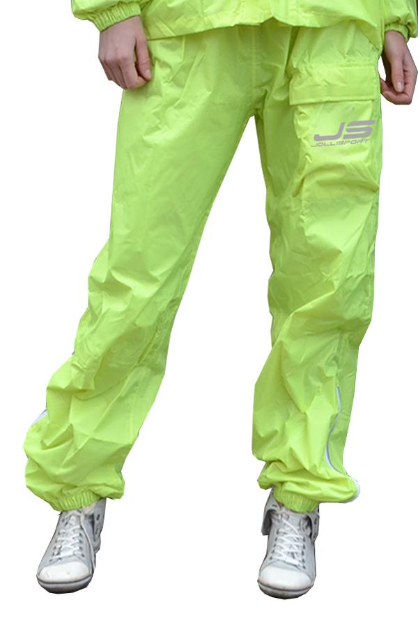 Rain Trousers Jollisport Pong fluorescent yellow