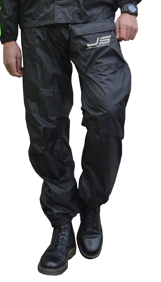 Rain Trousers Jollisport Pong Black