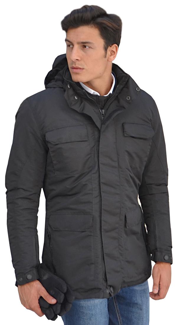 Motorcycle jacket Jollisport Metro Black